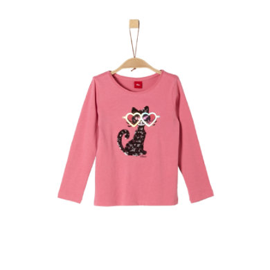 Minigirloberteile - s.Oliver Girls Langarmshirt pink - Onlineshop Babymarkt