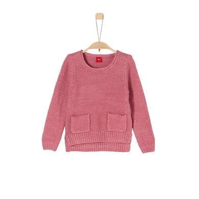 Minigirloberteile - s.Oliver Girls Pullover pink knit - Onlineshop Babymarkt