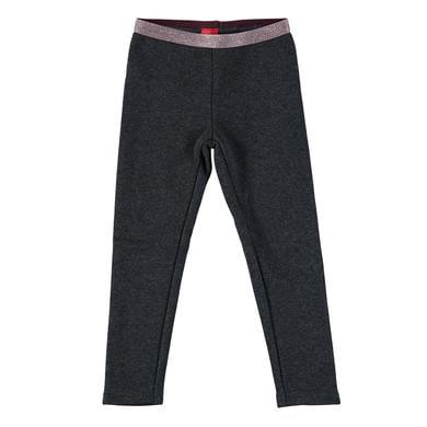 Minigirlhosen - s.Oliver Girls Leggings dark grey melange - Onlineshop Babymarkt