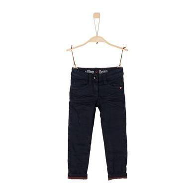 Minigirlhosen - s.Oliver Girls Jeans blue denim stretch – blau – Gr.Kindermode (2 – 6 Jahre) – Mädchen - Onlineshop Babymarkt