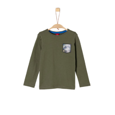 Miniboyoberteile - s.Oliver Boys Langarmshirt khaki - Onlineshop Babymarkt