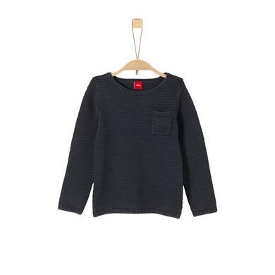 Miniboyoberteile - s.Oliver Boys Pullover dark blue - Onlineshop Babymarkt