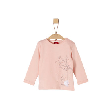 s.Oliver Girls Langarmshirt pink swing swan rosa pink Gr.Babymode (6 24 Monate) Mädchen
