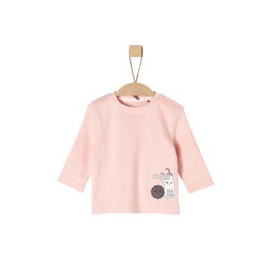 s.Oliver Girls Langarmshirt pink rosa pink Gr.Newborn (0 6 Monate) Mädchen