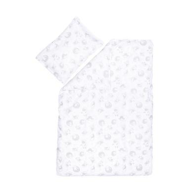 Kindertextilien - fillikid Bettwäsche 2 teilig Schaf weiß grau  - Onlineshop Babymarkt