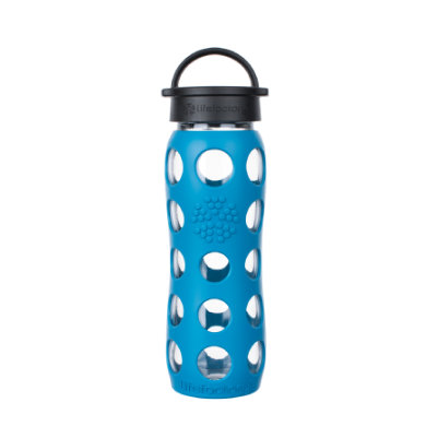 lifefactory  Classic 650 ml teal take - modrá