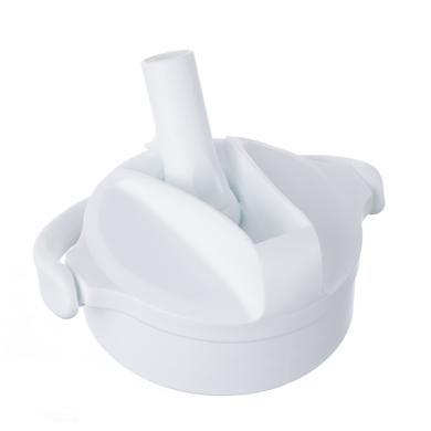 LIFE FACTORY Pivot Straw Cap arctic white pro skleněné láhve