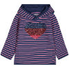 STACCATO Girls Sweatshirt dusty blue gestreift