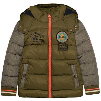 Miniboyjacken - STACCATO Boys Jacke olive jeans - Onlineshop Babymarkt