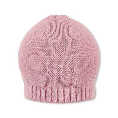 Sterntaler Gebreide hoed Terrybär Baylee Baylee roze