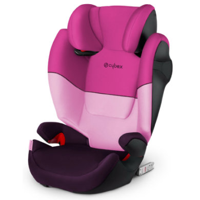 cybex Solution M-fix 2019 Purple Rain - fialová