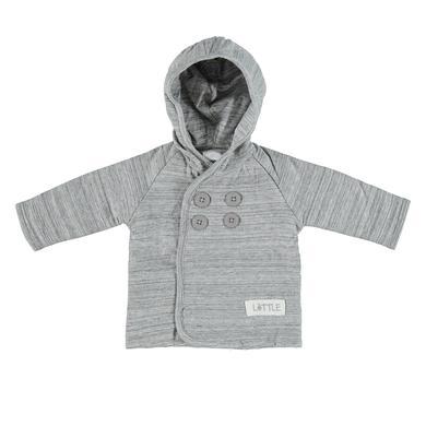 Babyjacken - LITTLE Baby Sweatjacke grau melange - Onlineshop Babymarkt