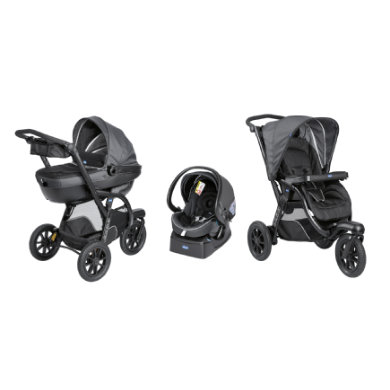 chicco trojkombinace Trio Activ3 2019 Iron