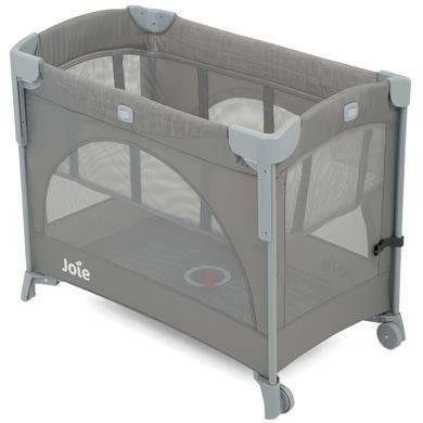 Kinderbetten - Joie Reisebett und Beistellbett Kubbie Sleep Foggy Gray  - Onlineshop Babymarkt