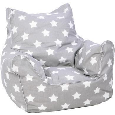 Sitzmöbel - knorr® toys Kindersitzsack, stars white  - Onlineshop Babymarkt