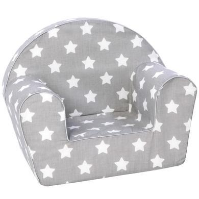 Sitzmöbel - knorr® toys Kindersessel Stars white  - Onlineshop Babymarkt