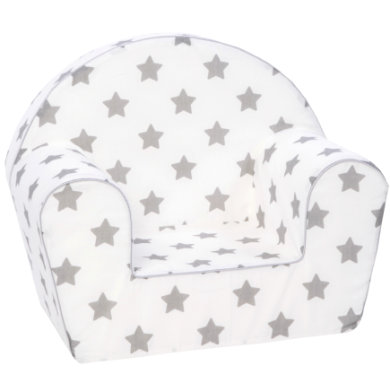 Sitzmöbel - knorr® toys Kindersessel Stars grey grau  - Onlineshop Babymarkt