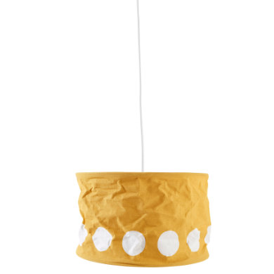 Kinderzimmerlampen - Kids Concept® Lampenschirm Dot, gelb  - Onlineshop Babymarkt