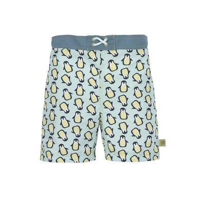 Miniboybademode - LÄSSIG Boys Badehose Pinguin mint - Onlineshop Babymarkt