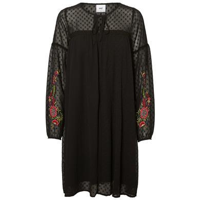 mama licious těhotenské šaty MLJESSA black - černá - Gr.Těhotenská móda