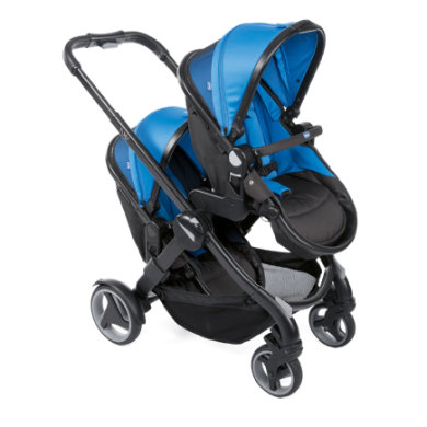 chicco Duowagen Fully Twin Power Blue