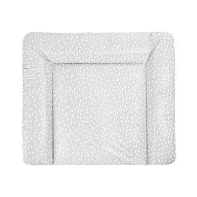 Wickelmöbel und Zubehör - JULIUS ZÖLLNER Wickelauflage Softy Folie Tiny Squares Grey 75 x 85 cm grau  - Onlineshop Babymarkt