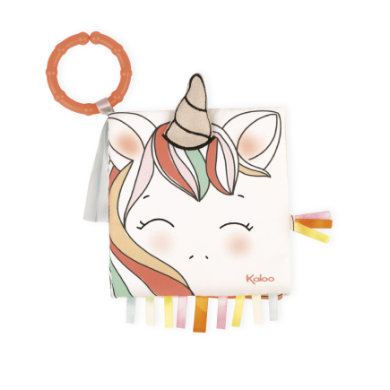 Kaloo Activity -Book Small Happy Unicorn