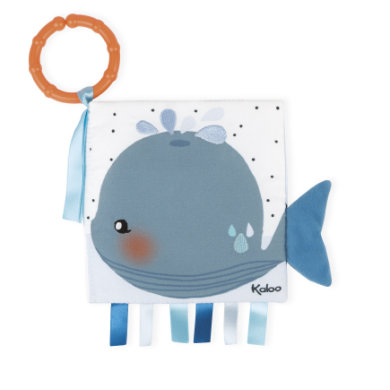 Kaloo Activity -Book Small Sad Whale
