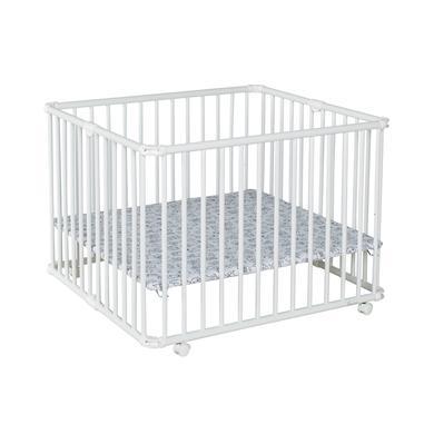 Laufgitter - geuther Laufgitter Lucilee Plus 90,2 x 97,4 cm weiß kleine Monster  - Onlineshop Babymarkt
