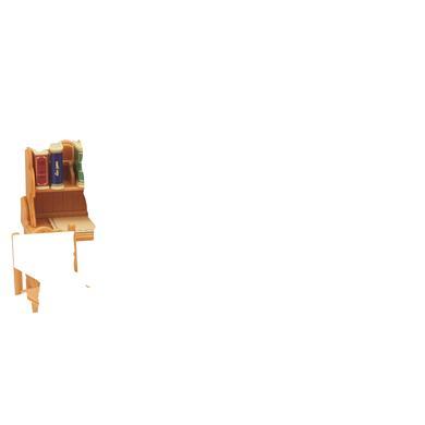 Sylvanian Families® venkovský dům, dětský pokoj s palandou