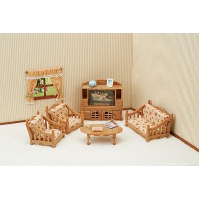 Sylvanian Families® venkovský dům - obývací pokoj