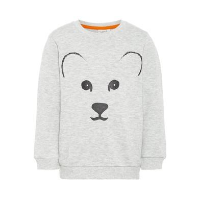 Miniboyoberteile - name it Boys Sweatshirt Vilfred light grey melange - Onlineshop Babymarkt