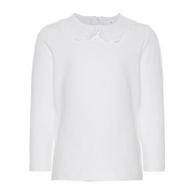 Minigirloberteile - name it Girls Langarmshirt bright white - Onlineshop Babymarkt