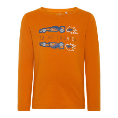 Miniboyoberteile - name it Boys Langarmshirt Victor autumn maple - Onlineshop Babymarkt