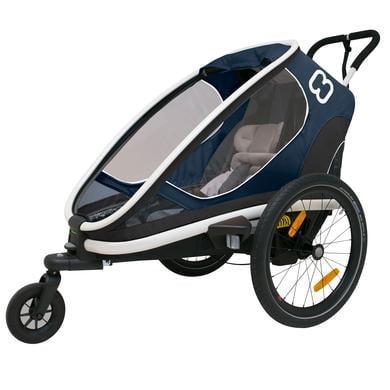 hamax Outback One vozík za kolo, modrá