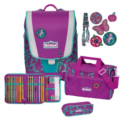 Scout Ultra Set 4tlg. Lilac Leaves