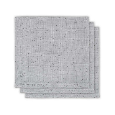 jollein Deka 3-pack Mini Dots Mist Grey