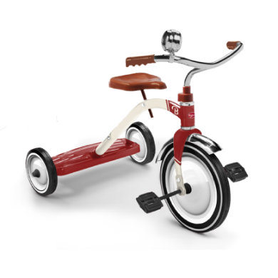 Baghera Dreirad Vintage Rot rot