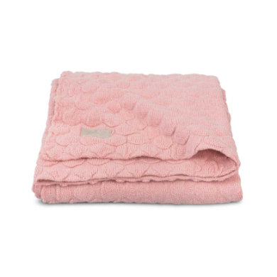 jollein Deken Fancy Knit Blush Pink 75x100cm
