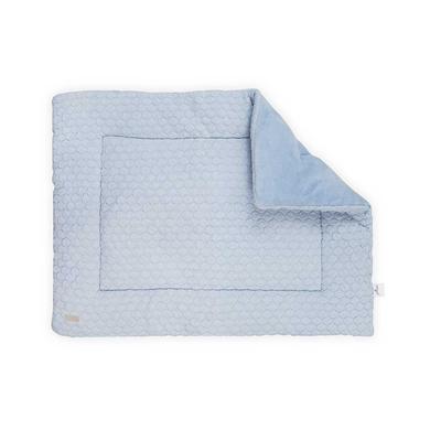 jollein Lekmatta Fancy Knit Baby Blue 80x100 cm