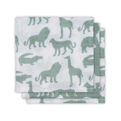 jollein Mouth hand 3-pack Safari Forest Green