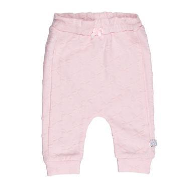 Feetje Sweathose fancy fabric bows all of me rosa rosa pink Gr.Newborn (0 6 Monate) Mädchen