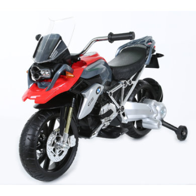 ROLLPLAY BMW 1200 motorka 6V, červený - černá