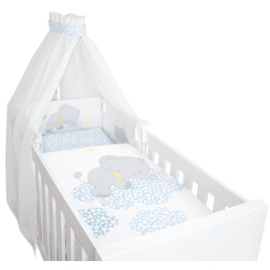 Be bella vital Bed set 4 ks Lunafant blue
