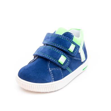 superfit Halbschuh Moppy blau/grün (mittel) - Gr.Babymode (6 - 24 Monate) - Jungen
