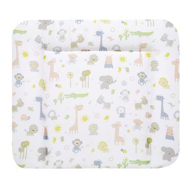 Wickelmöbel und Zubehör - Alvi Wickelauflage Molly Stoff Zootiere bunt 70 x 85 cm  - Onlineshop Babymarkt