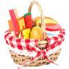 small foot® Picknickkorb mit Schneide-Lebensmittel