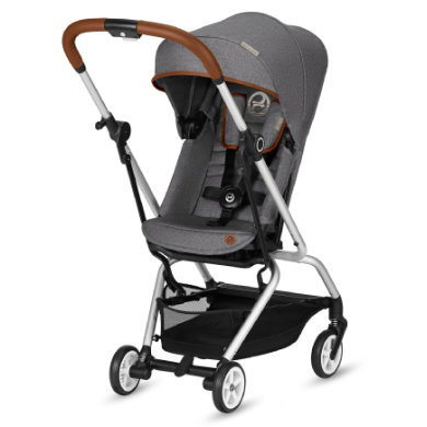 cybex GOLD  Eezy S Twist 2019 Denim Manhattan Grey - šedá