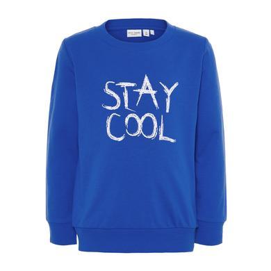 name it Boys Sweatshirt Vildar strong blue blau Gr.Kindermode (2 6 Jahre) Jungen