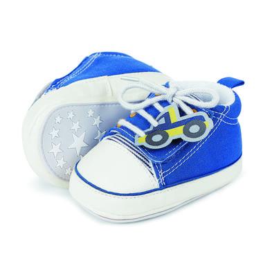 Babyschuhe - Sterntaler Boys Baby–Schuh, blau – Gr.15 16 – Jungen - Onlineshop Babymarkt
